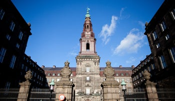 Denmark's parliament building, the Christiansborg Palace in Copenhagen, Denmark, March 13, 2012.