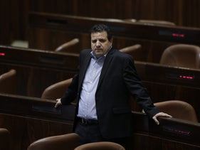 Ayman Odeh (Joint List), in the Knesset plenum, May 2018