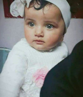 The baby who died, Layla al-Ghandour