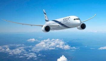 File photo, El Al Boeing