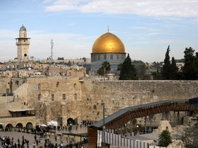 Jerusalem's Old City and the Western Wall, Judaism's holiest prayer site