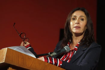 Culture and Sports Minister Miri Regev, May 2018