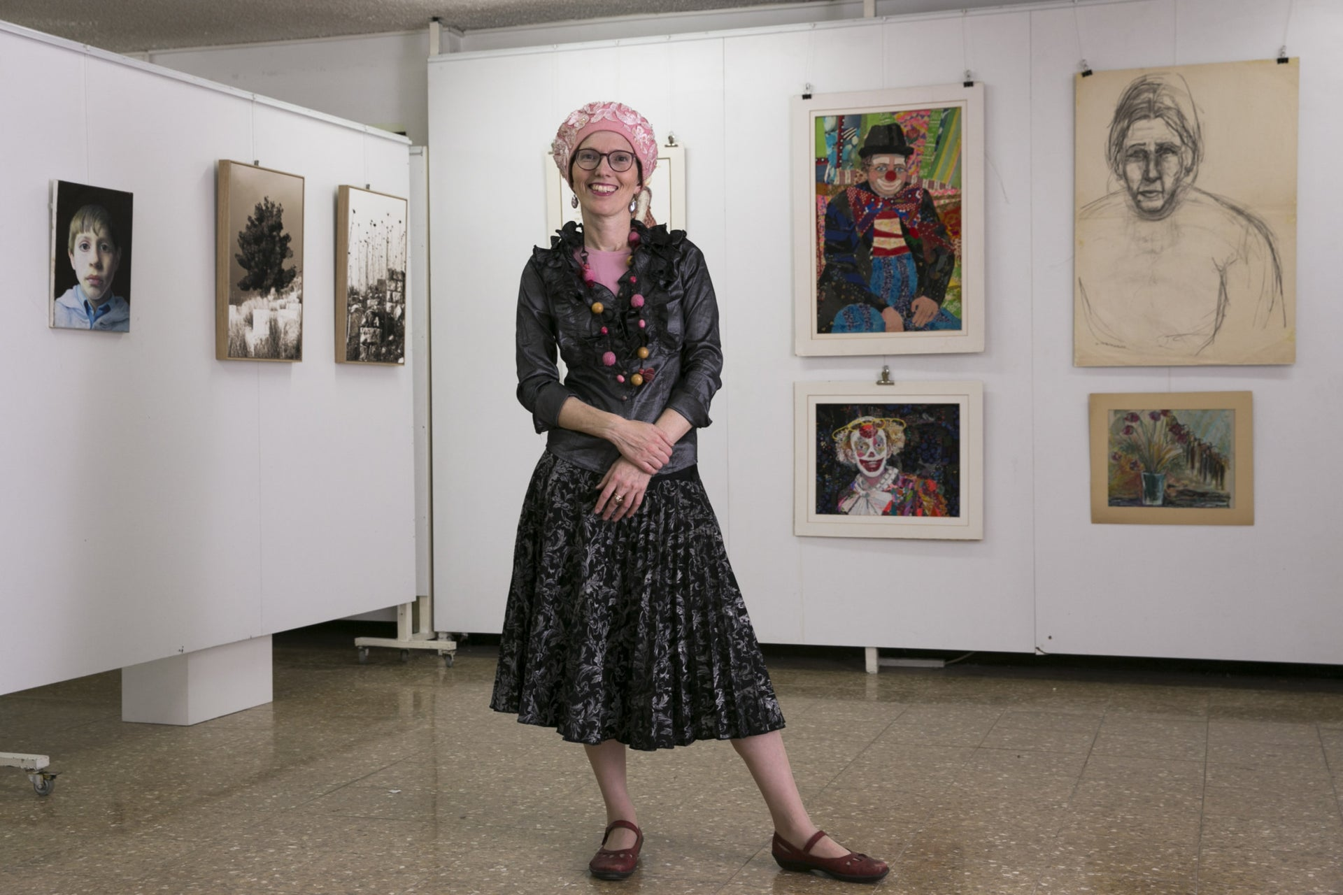 Noa Lea Cohn, director and curator of the Art Shelter Gallery in Jerusalem.