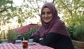Ebru Ozkan, who was arrested in Israel in June 2018 on suspicion of links to Hamas.