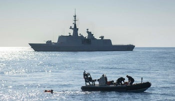 French navy arrives in Israel for joint naval exercises