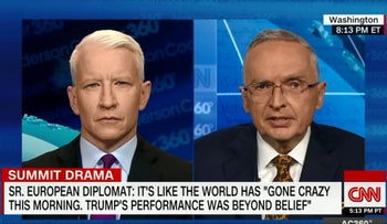 Anderson Cooper and Lt. Colonel Ralph Peters