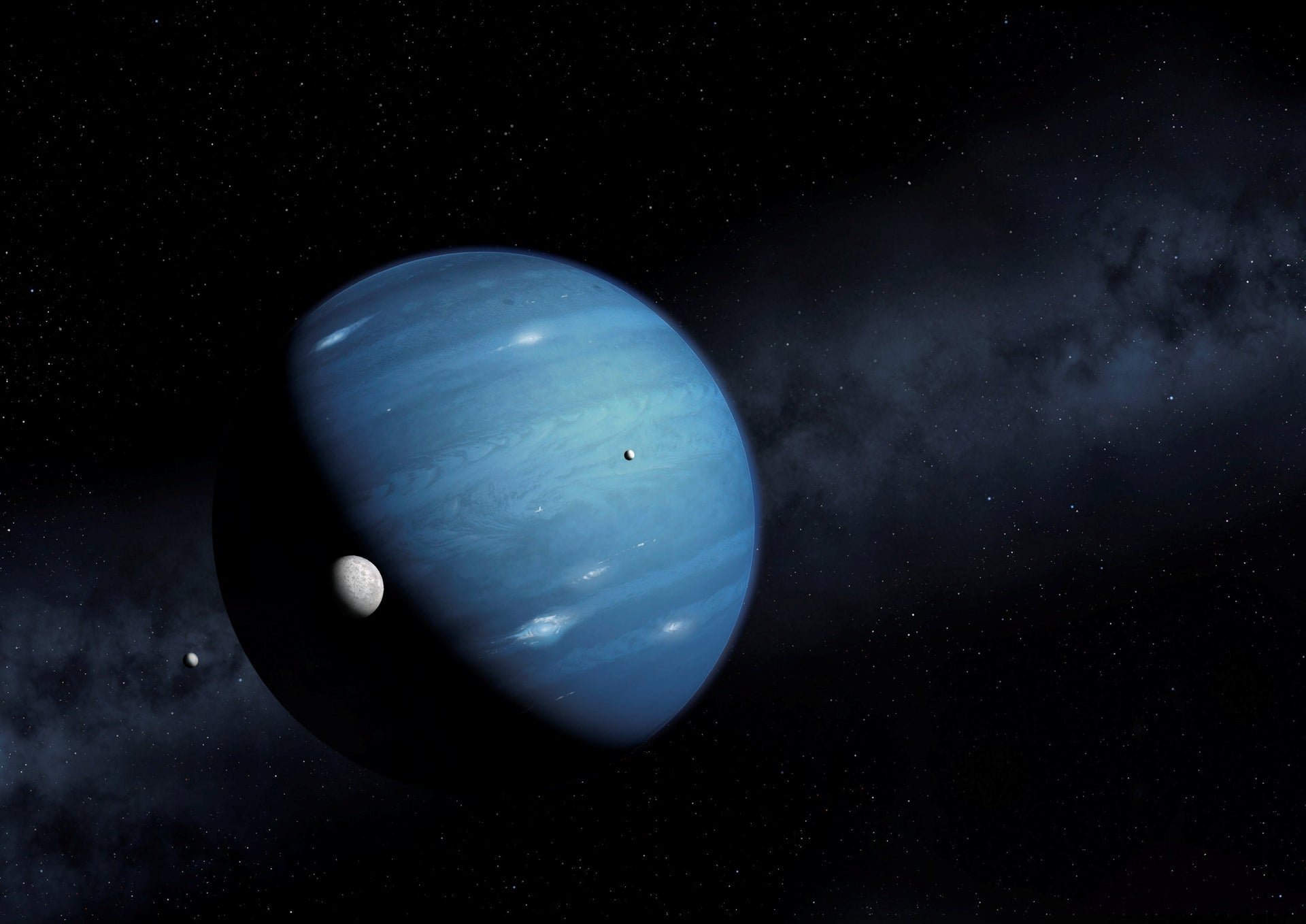 Planet Nine is a hypothesized massive planet, first proposed in 2014, that is speculated to orbit far out in the solar system, October 2016