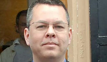 Andrew Brunson, the U.S. cleric under arrest in Turkey for terrorism charges.