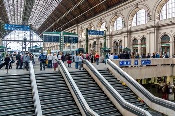 The main international railway terminal in Budapest was builtin 1884