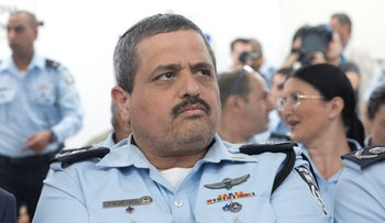 Police Commissioner Roni Alsheich at an event in April 2018.