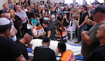 Yotam Ovadia's funeral, Friday