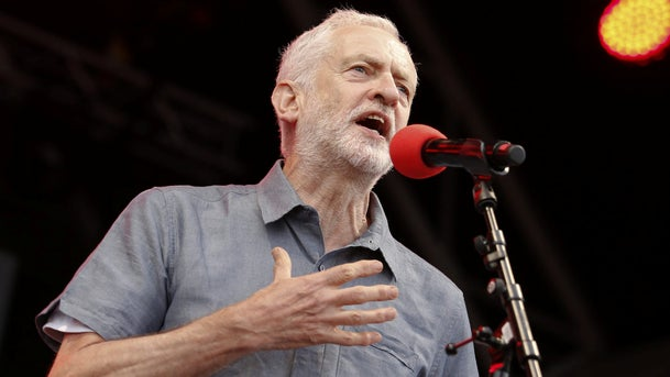 Jeremy Corbyn, leader of the U.K's opposition Labour Party, speaks during the 'Labour Live' festival in London, U.K. June 16, 2018