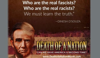 Dinesh D'Souza tweet publicizing 'Death of a Nation'