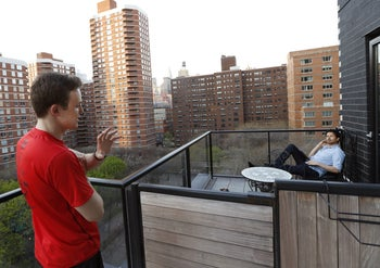 A cooperative housing unit in New York.
