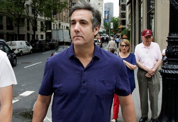 Michael Cohen, former lawyer for President Trump, in New York, July 30, 2018.