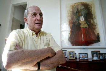 FILE PHOTO: Birthright co-founder Charles Bronfman