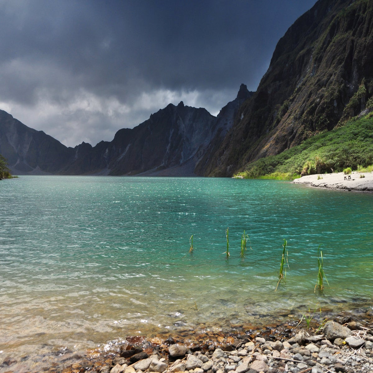 Caldera of Mt. Pinatubo