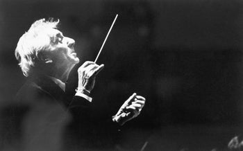 "Leonard Bernstein: ""If I don't become Brahms or Tchaikovsky or Stravinsky when I'm conducting their works, then it won't be a great performance."""