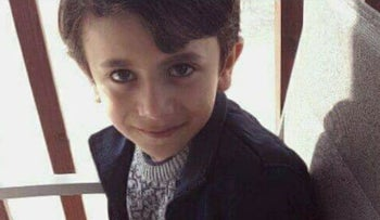 Seven-year-old Kareen Jamhur, who was kidnapped outside his home.