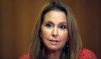 Shari Arison, the richest woman in Israel, during an interview with Reuters in Jerusalem.