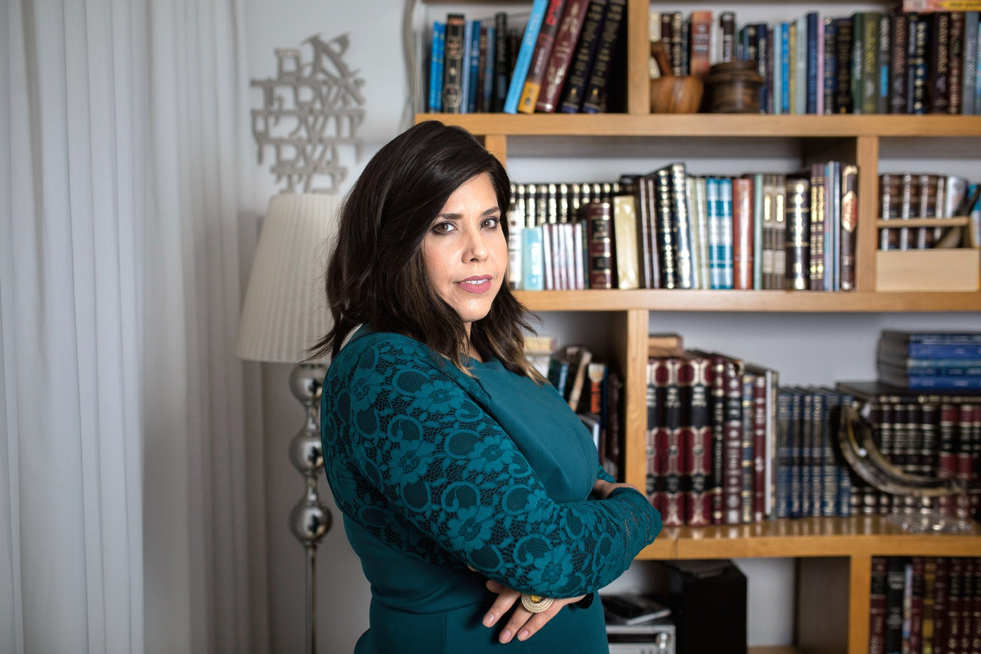 Esti Shushan, an activist in the struggle to put an ultra-Orthodox woman in the Knesset.