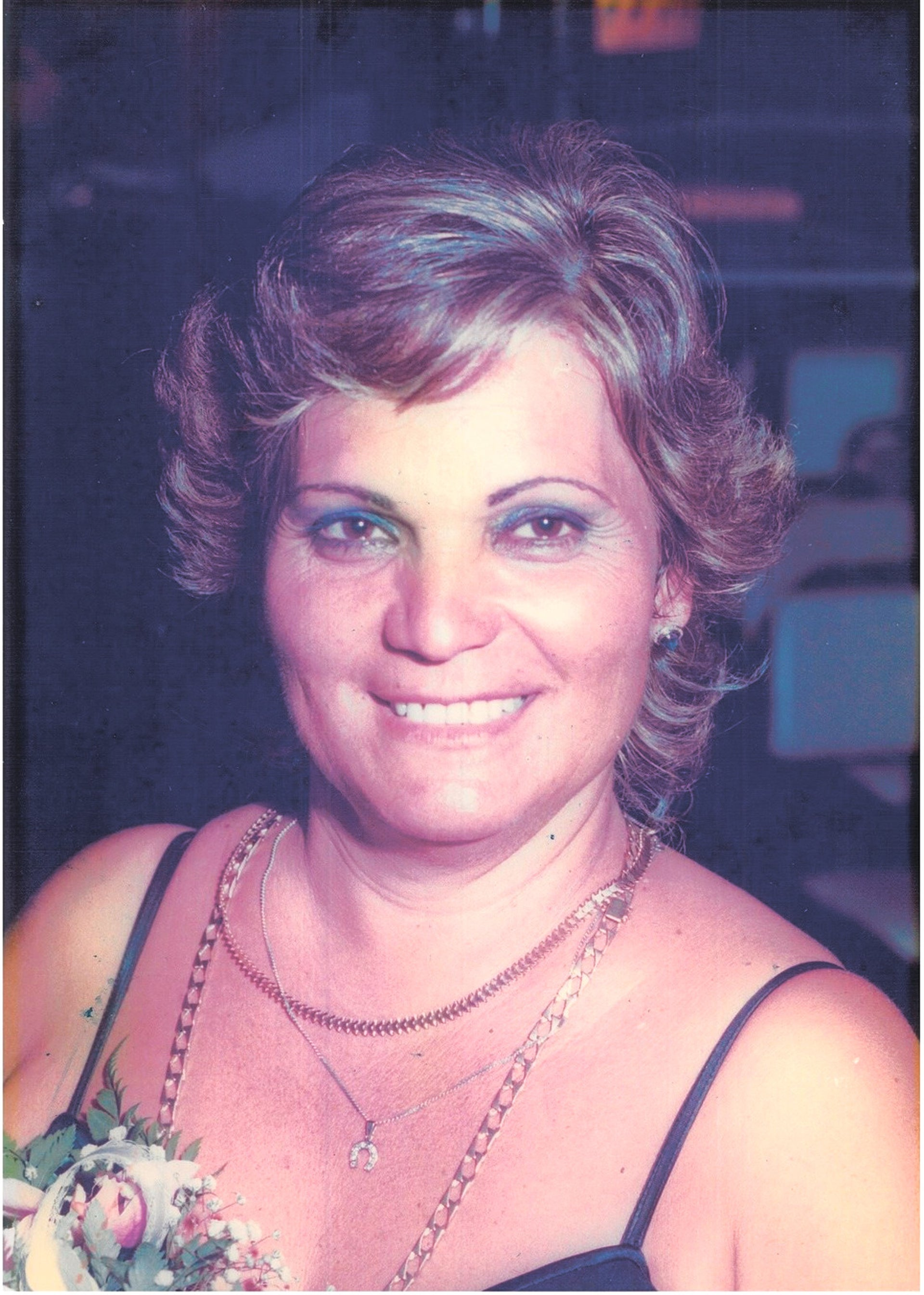 Eness Hasson. Grandmother was always there for the big family that she had brought into the world.