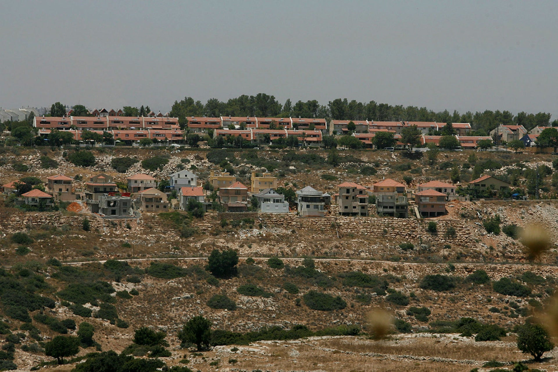 The West Bank settlement of Karnei Shomron.
