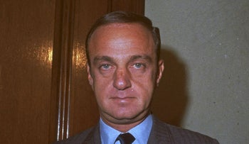 Attorney Roy Cohn, former U.S. Senate Committee Counsel, is shown in a January 1969 photo