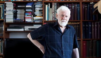 Uri Avnery in July, 2014.