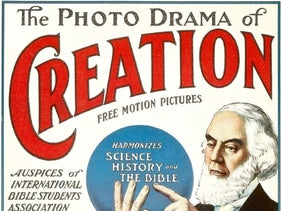 The Photo-drama of Creation used the recorded voice and moving pictures of Charles Taze Russell in 1912