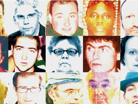 Images of missing people in France. In contrast to other countries, including Israel, France has no national database containing the details of unidentified bodies.