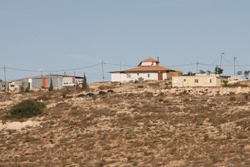 File photo: Mitzpe Yair, South Hebron Hills, 2010.