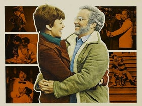 Theatrical poster for the movie 'The Goodbye Girl.'