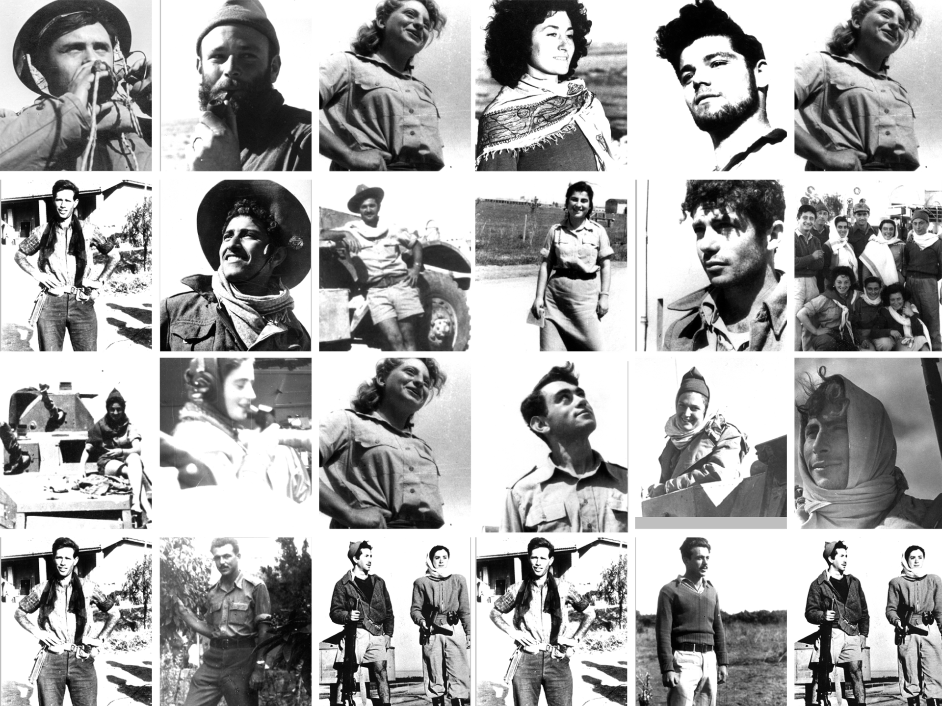 Recognize anyone? The Palmach Museum is trying to identify who's in these pictures of believed pre-state underground fighters