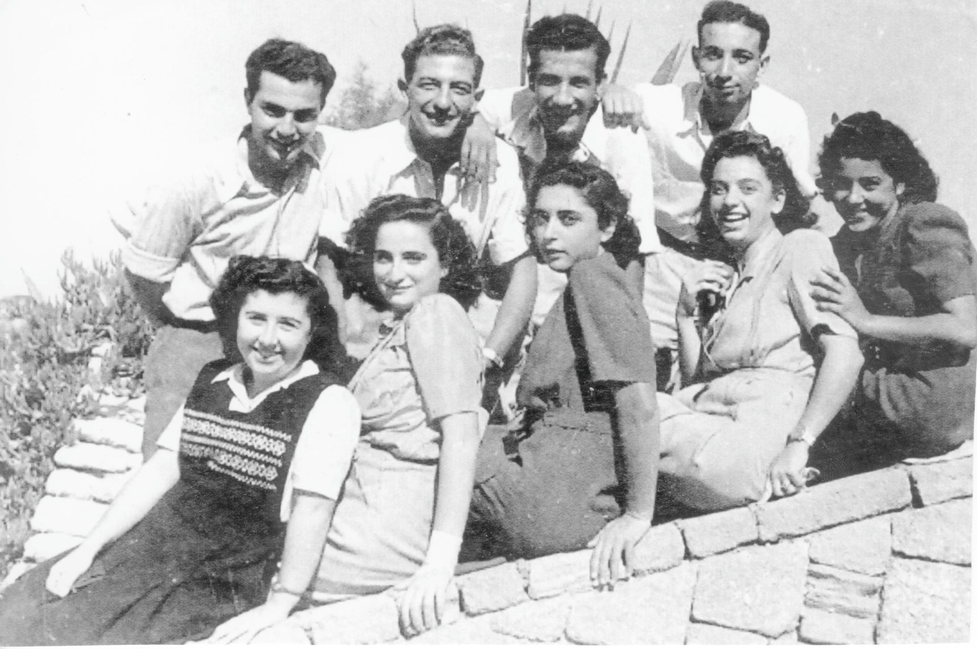 An unidentified photograph from the Palmach Museum archives