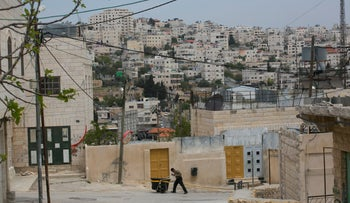 Hebron in the West Bank, April 2017.