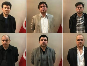 "Six Turkish nationals arrested in Kosovo for being members of what Ankara calls the ""Fetullah Gulen Terror Group (FETO)"""