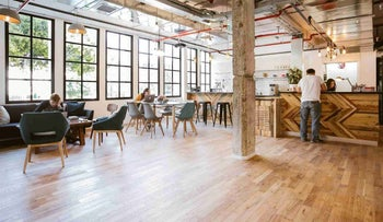 A  WeWork shared workspace in Tel Aviv, September 4, 2016