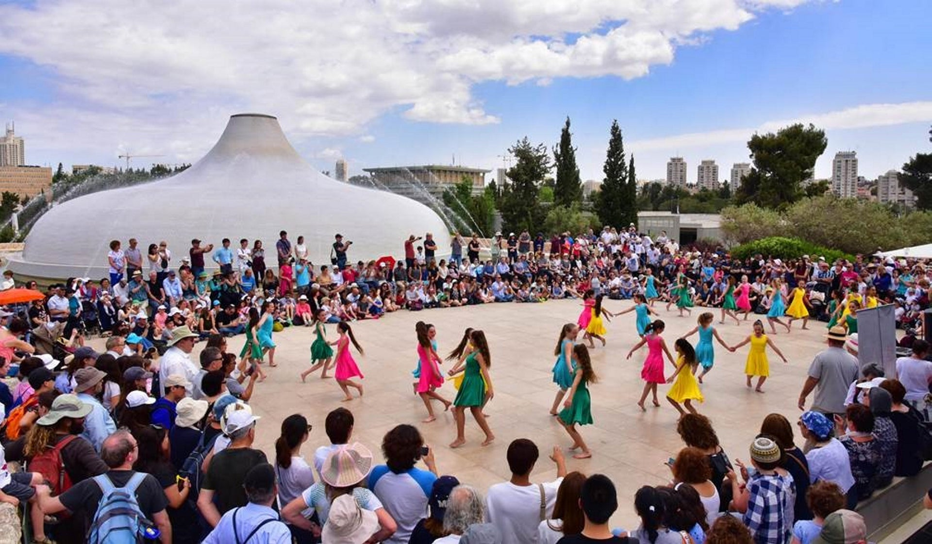Independence Day celebration at the Israel Museum.