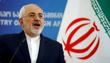 FILE PHOTO: Iranian Foreign Minister Mohammad Javad Zarif, April 18, 2017.