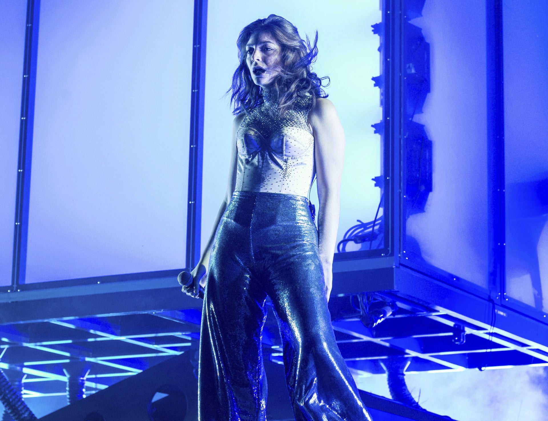 Lorde in concert. Confronted diplomatic, moral and economic implications