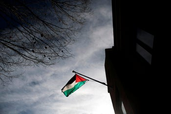 The Palestine Liberation Organization (PLO) Office in Washington, D.C. November 21, 2017