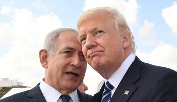 Trump and Netanyahu, 2017.