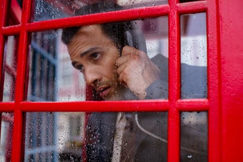"Marwan Kenzari as Ashraf Marwan in Netflix's ""The Angel."""