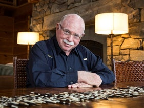 FILE Photo: Michael Steinhardt visits animals in the private zoo at his home in Mount Kisco, March 15, 2013.