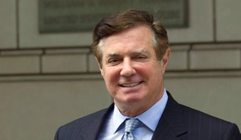 Paul Manafort, U.S. President Donald Trump's former campaign chairman, leaving the Federal District Court in Washington, May 23, 2018.