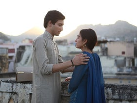 "Rohit Saraf and Maria Mozhdah in ""What Will People Say."""