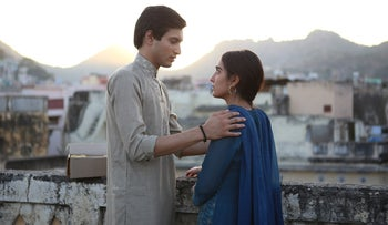 """Rohit Saraf and Maria Mozhdah in """"What Will People Say."""""""