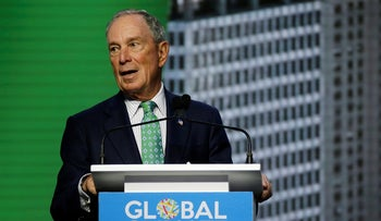 Michael Bloomberg, the UN Secretary-General's Special Envoy for Climate Action, speaks during the plenary session of the Global Action Climate Summit Thursday, Sept. 13, 2018, in San Francisco.