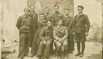 Volunteers from British Mandatory Palestine who set out to fight in the Spanish Civil War in 1936